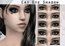 black eyeshadow make up
