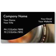 business cards photographer