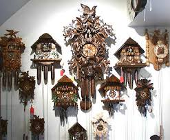 pictures of cuckoo clocks