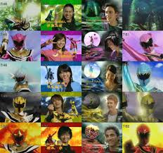 mystic force morphers