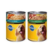 dog can food