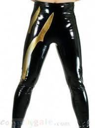 gold metallic pants