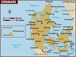 a map of denmark