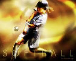 softball paintings