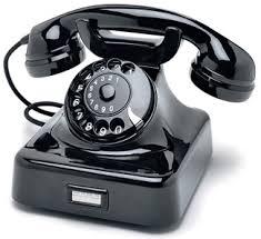 black telephones