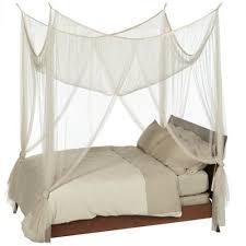 sheer bed canopies