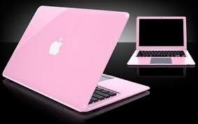 colored apple laptop
