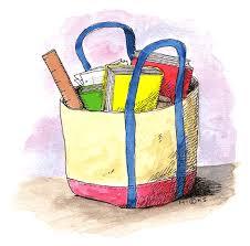 bag clip art