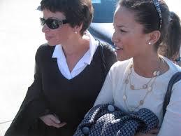 Valerie Jarrett with daughter