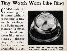 swiss watch ring