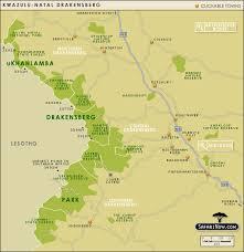 drakensberg maps