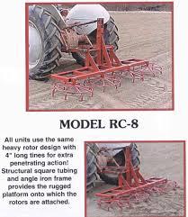 rotary harrows