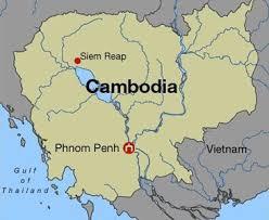 cambodia phnom penh map