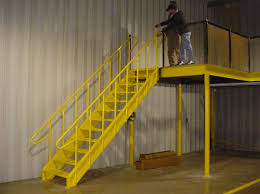 industrial metal stairs