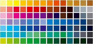 pantone colors chart