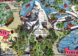 old disneyland map