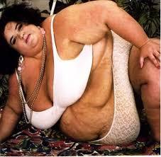 Il est bon d'être gros ? Obese-fat-woman