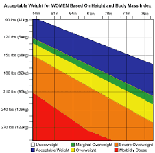 height and weight averages