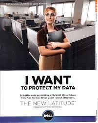 dell laptop advertisement