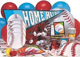 baseball party invites