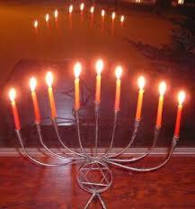 hanukkah candelabra