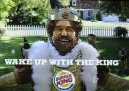 burger king robe