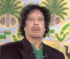 Nut Job Muammar Gaddafi