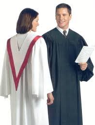 choral robe