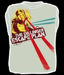 dillinger escape plan shirts
