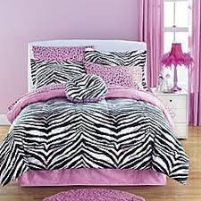 black and white zebra print sheets