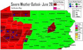 pa weather map