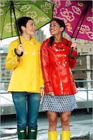 fashion rain coats