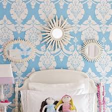 pottery barn wallpaper