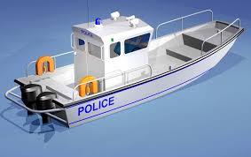 police patrol boats