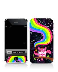 rainbow iphone