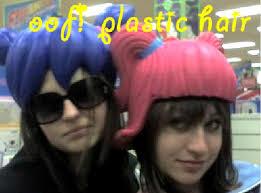 hair plastic