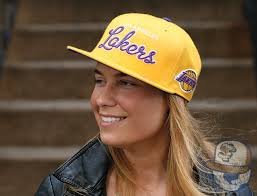 lakers fitted caps