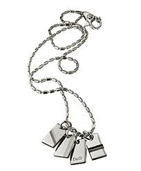 mens charm necklace