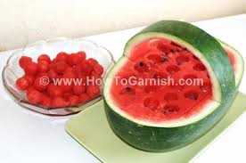 melon scoops