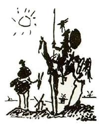 pablo picasso don quijote