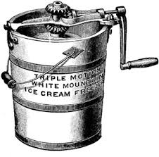 hand cranked ice cream makers
