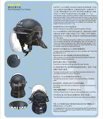 anti riot helmets
