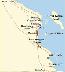 makadi bay egypt map