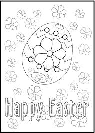 easter coloring book pictures