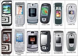 modelos de celular