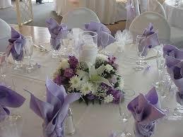 lavender centerpieces