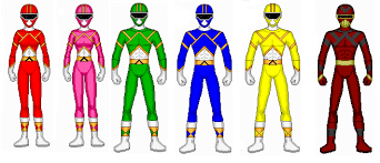how to draw a power ranger