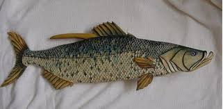fish wooden