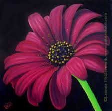 gerber daisy paintings