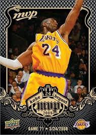 kobe bryant basketball card